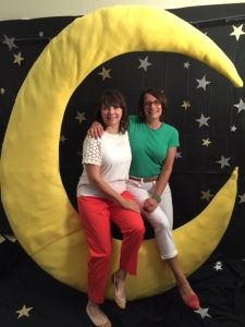 A night under the stars - The library was transformed by staff!